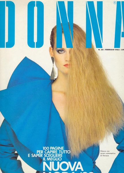 DONNA cover with photographer Oliviero Toscani
