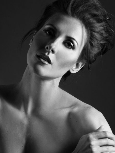 Photographer Phillip Ritchie Headshot of model Jacqueline Depaul