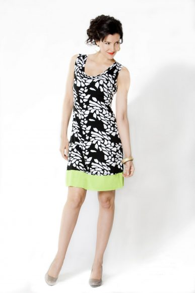 Stiletto Dress- model Jacqueline Depaul