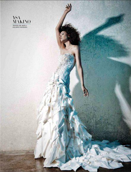 December 2014 Vanidades Novias Brides, Nostalgico Romance editorial featuring model Jacqueline Depaul