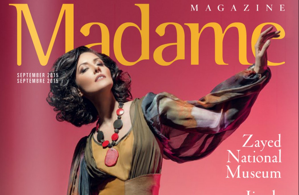 Madame Magazine Sept 2105 Cover featuring Jacqueline Depaul