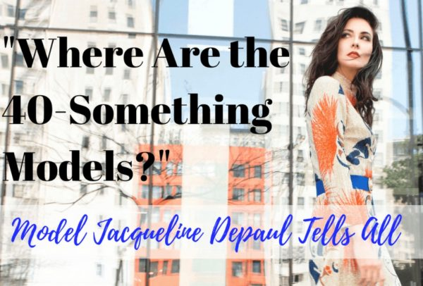 Featured in SheSpark Magazine: Where are all the 40-something models?
