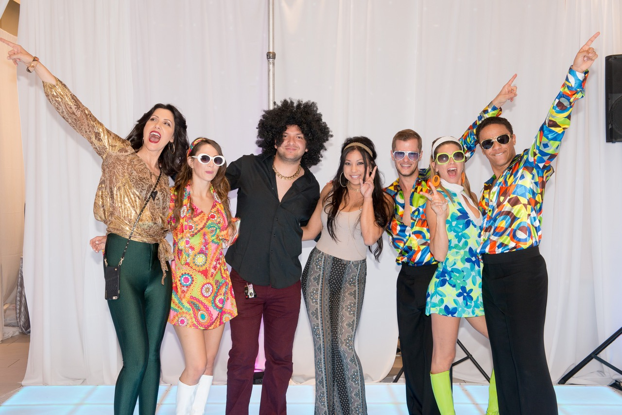 Ontario Mills Disco Party And 70 S Inspired Fashion Show Yellow Brick Runway